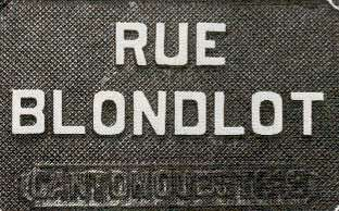 Rue Blondlot